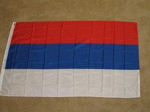Serbia Flag 3x5 feet Serbian National banner republic of new