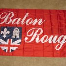 Baton Rouge Flag 3x5 feet double sided LA Louisiana banner new