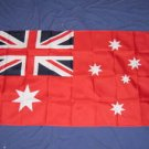 Australia Red Naval Ensign Flag 3x5 Australian Navy