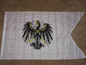 Prussian Flag 3x5 feet Kingdom of Prussia banner War Ensign Germany German new
