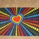 Rainbow Heart Flag 3x5 feet LGBT banner Gay Lesbian pride new