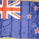 New Zealand Flag 3x5 feet banner indoor outdoor new