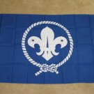 World Scout Flag 3x5 feet Boy Scouts Crest banner sign new