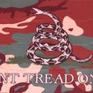 Don't Tread on Me Camouflage Flag 3x5 Gadsden Tea Party