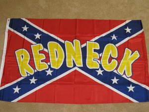 Rebel Redneck Flag 3x5 feet Confederate banner new