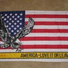 America Love it or Leave Flag 3x5 feet American banner