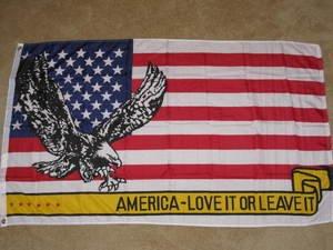 America Love it or Leave Flag 3x5 feet American banner