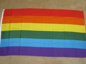 Rainbow Flag 3x5 feet Gay Pride LGBT lesbian banner new