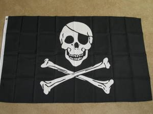 Pirate Flag 3x5 feet Jolly Roger Skull Crossbones new