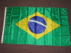 Brazil Flag 3x5 feet Nylon Brazilian high quality new
