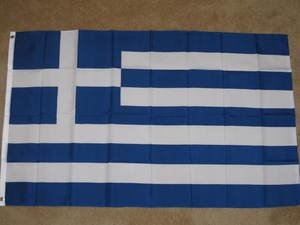 Greece Flag 3x5 feet Greek Isles banner sign new