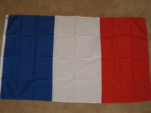 France Flag 3x5 feet French banner sign new