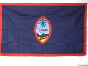 Guam Flag 3x5 feet American territory banner sign new