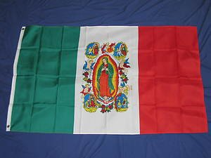 Our Lady of Guadalupe Flag 3x5 feet Mexico religious