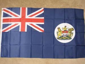 Colonial Hong Kong Flag 3x5 feet British historical old