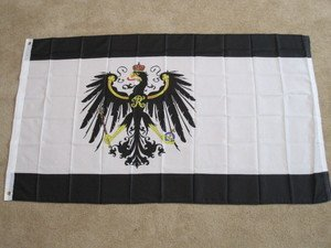 Prussian Flag 3x5 feet Kingdom of Prussia Germany German War banner new