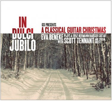"""Limited Edition Autographed CD """"IN DULCI JUBILO - A Classical Guitar Christmas"""