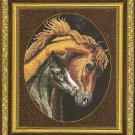 **A Mother's Love Horse Cross Stitch Pattern Kustom Krafts 2004