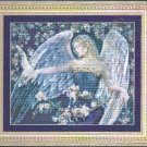 **IN BLUE ANGEL Cross Stitch Pattern Kustom Krafts 2004
