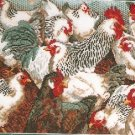 **Rooster Cross Stitch KIT - LADIES IN WATING