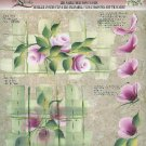 **Donna Dewberry RTG - Reverse Painting - Roses - Pattern - Tole Painting