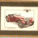 Heritage Classics 1937 Jaquar SS100 Cross Stitch KIT