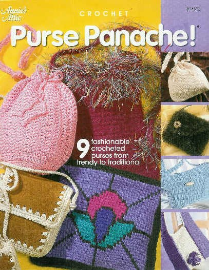 **Annie's Attic purse Panache ! 9 Fashionable Purse Patterns