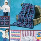 **Crochet/Knit Afghan Patterns Broomstick LACE Sweaters VESTS *