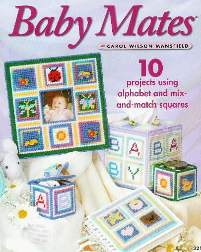 ** 10 * Plastic Canvas PROJECTS for BABY Organizer - Name -*
