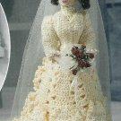 "**CROCHET Annie's Attic * 5 * Victorian Ladies Gowns - 14 1/2"" Doll"