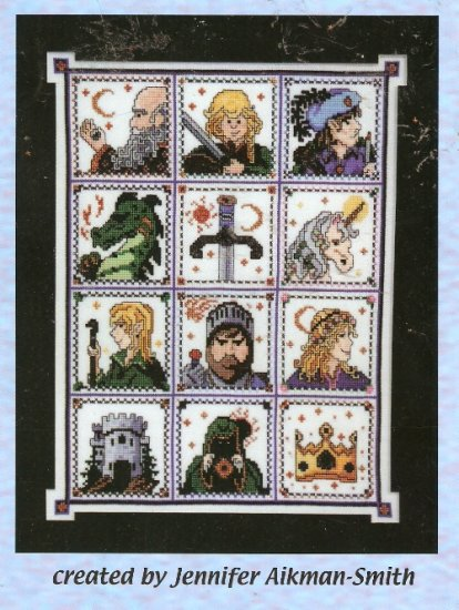 **Cross Stitch Dragon Dreams THE RUNEKEEPER SAGA J. Aikman -Smith