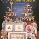 **15 ANGELS & BEARS Cross Stitch Patterns 1997 Cross My Heart *
