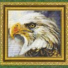 **Bird Of Prey CROSS STITCH Kustom Krafts 2003 EAGLE 2 *