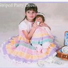 **Crochet Baby Pattern * 2 * Complete Dress Sets for Girls and Dolls/Babies