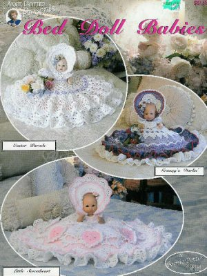 Bedjackets Vintage Patterns PDF Download - KarensVariety.com