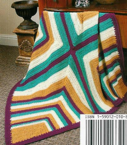 ** 5 * CORNER to CORNER Diagonal Afghan Patterns