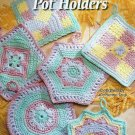 **Crochet Annie's Attic * 6 * Gorgeous Pastel POTHOLDER Patterns