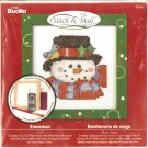 **Christmas Stitch & Mail Cross Stitch KIT SNOWMAN 2006