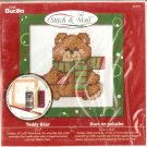 **Christmas Stitch & Mail Cross Stitch KIT CUTE TEDDY BEAR 2006