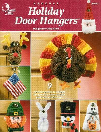 **Crochet Annie's Attic HOLIDAY DOOR DECORATIONS Patterns