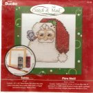 **Christmas Stitch & Mail Cross Stitch KIT Santa Claus 2006