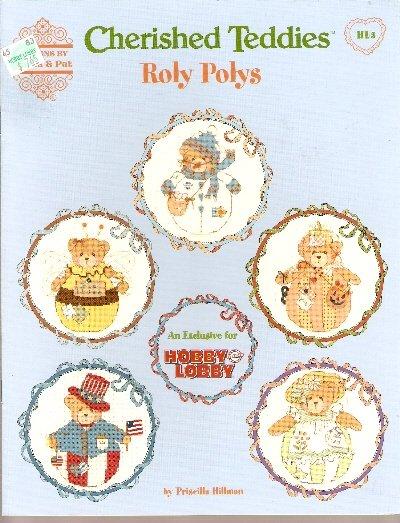 **12 * Cherished Teddies Cross Stitch Patterns ROLY POLYS