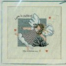 **Crochet Rose Garden Afghan/Hearts - Cross Stitch Angel Ptns