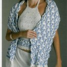 **Crochet POLISH STAR Shrug - Poncho - Shawl - Beachwear