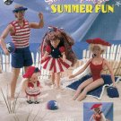 **Annie Potter Fashion Doll STAR SPANGLED Summer FUN Patterns