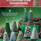 **Crochet *9* Annie's Attic MINI Christmas Tree Ornaments Patterns