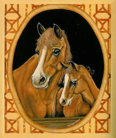**World of Animals Vol 5 by Ana Bernabe  - HORSES Cats DOGS - Tole Painting