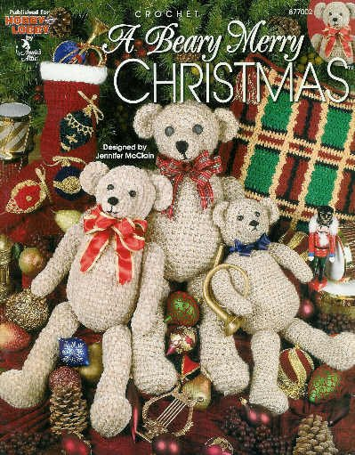 **Crochet Christmas Afghan Pattern A BEARY MERRY CHRISTMAS