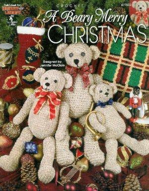 **Crochet Christmas Afghan Pattern A BEARY MERRY CHRISTMAS