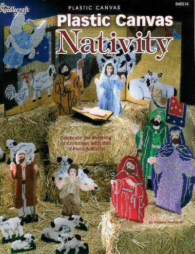 Plastic Canvas NATIVITY * 18 * Beautiful Pieces Patterns
